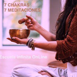 7 CHAKRAS 7 MEDITACIONES